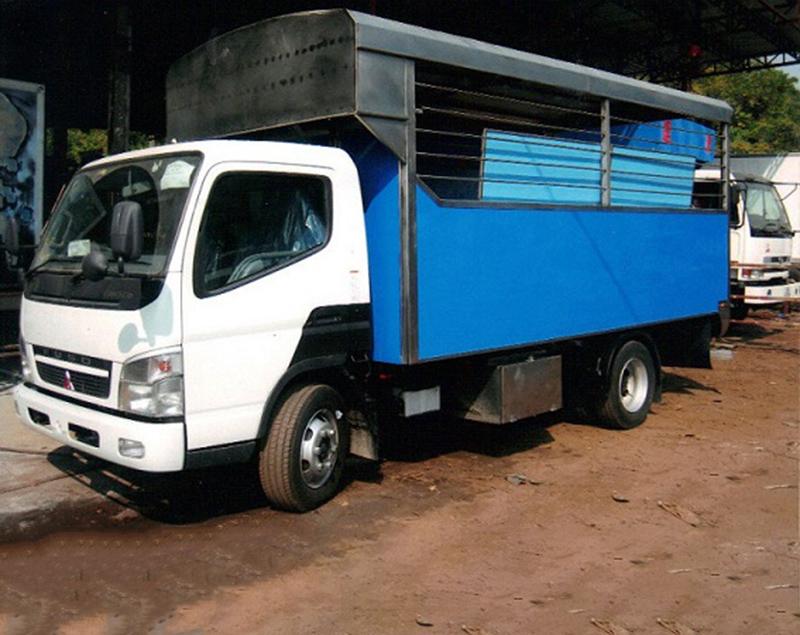 不锈钢鱼车厢-冷藏车厢