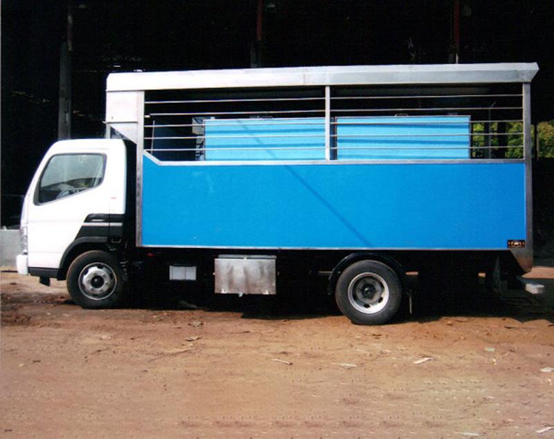 不锈钢鱼车厢-冷藏车厢价格